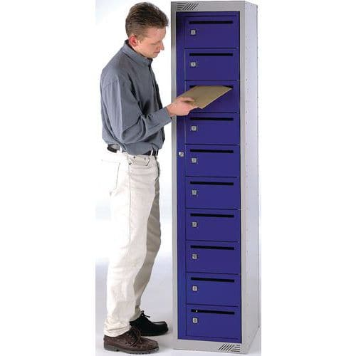 Post Box Locker With Ten Compartments