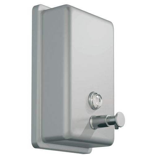 Savinox gel soap dispenser - Brushed stainless steel - JVD