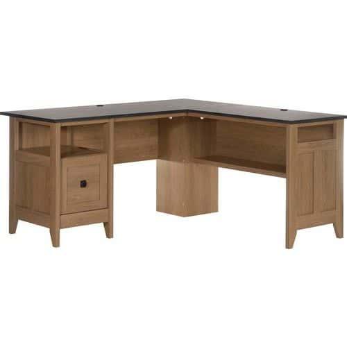 Home Study L-Shaped Desk