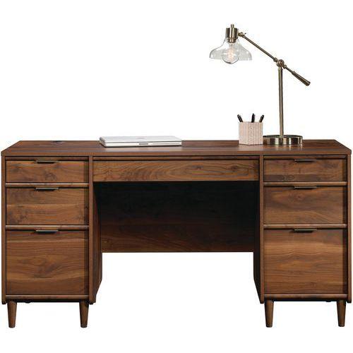 Clifton Home Executive Desk Walnut