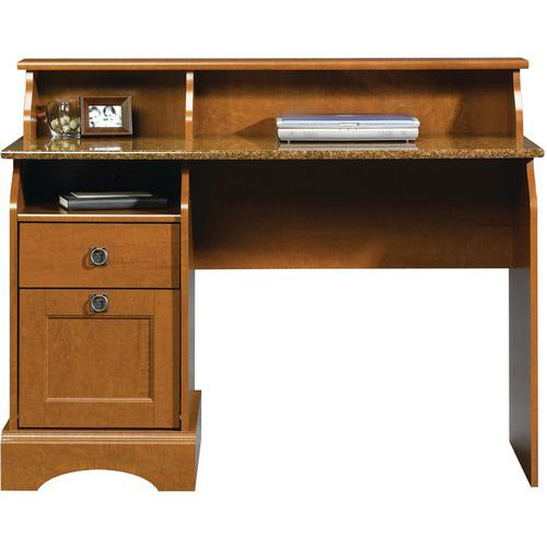 Farmhouse Home Study Desk Maple