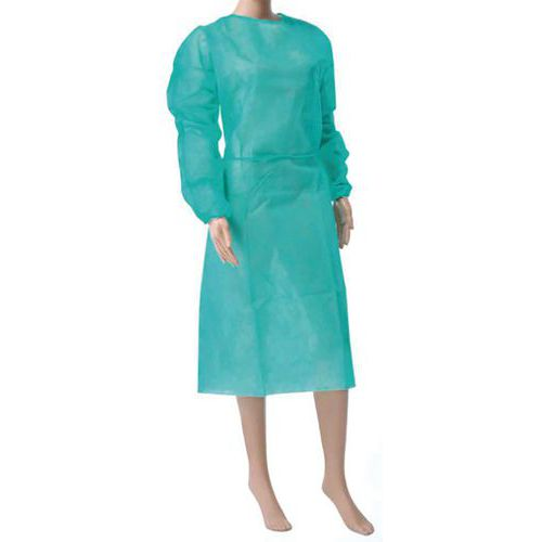 Long-sleeved gown - Pack of 10