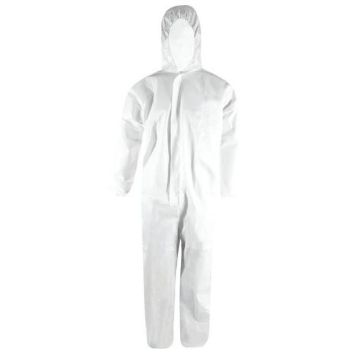 Category 3 disposable protective overalls, type 5/6 - EN 14126 certified