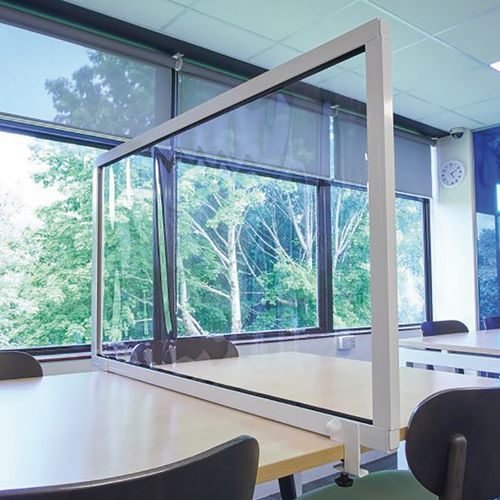 Fixed Clear Protection Desk Screens