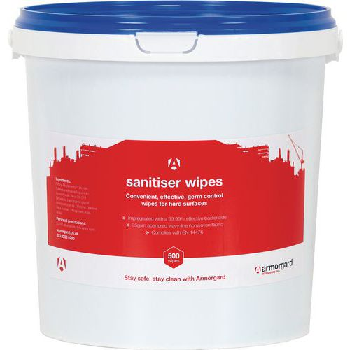 Disinfectant Wipes. Bucket of 500