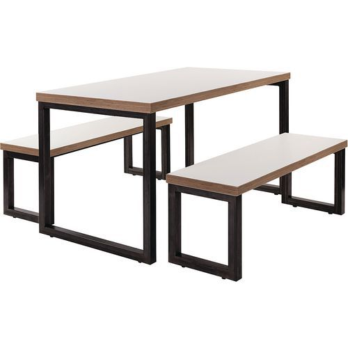 Unite 4 Person Dining Bench Set