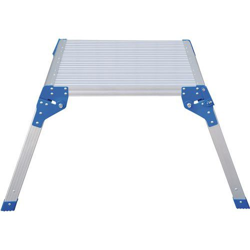Aluminium Square Work Platform - Industrial Micro Step Stool