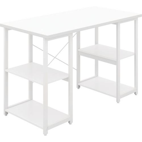 Small Wooden Home Office Desk With Storage