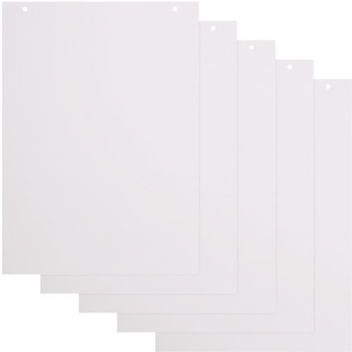 Flip Chart Paper Packs - 40 Plain A1 Sheets Per Pad