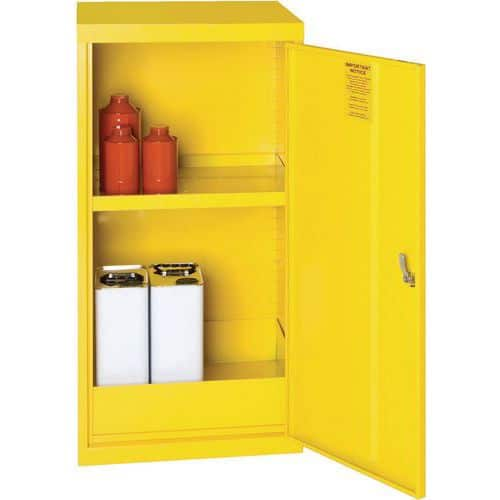 Flammable Material Storage Cabinet COSHH - 910x457mm - Premium