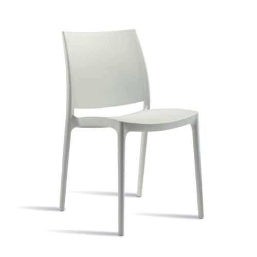 Spice Plastic Side Chairs