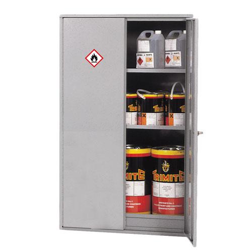 Tall Double Door Flammable Liquid Cupboard