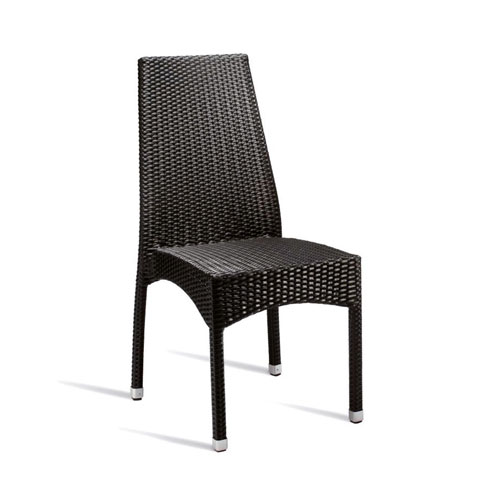 Stag High Back Rattan Chair