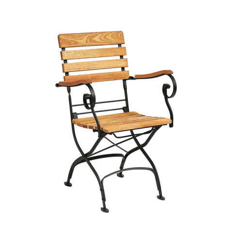 Arch Bistro Folding Chair