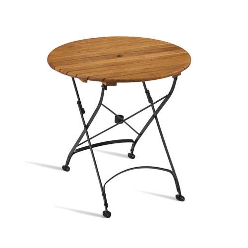 Arch Round Wooden Bistro Table