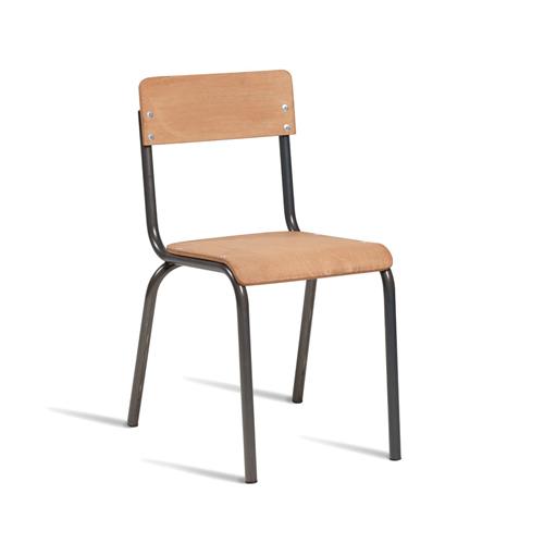 Wooden Industrial Bistro Chair