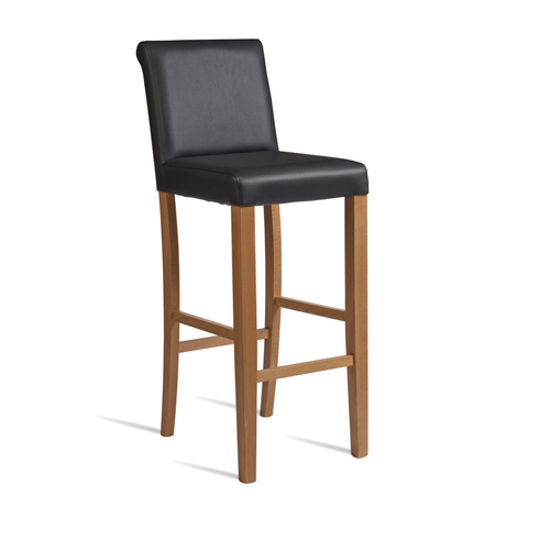 Lynx High Bistro Leather Chairs