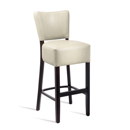 Club High Bistro Leather Chair
