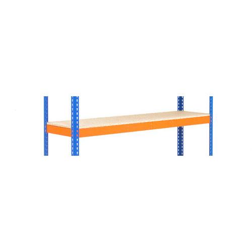 Shelves for Extra Heavy Duty Shelving - Orange 1830mm Width