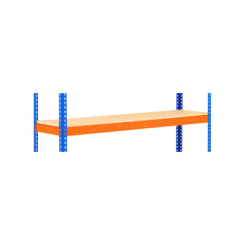 Shelves for Extra Heavy Duty Shelving - Orange 1525mm Width