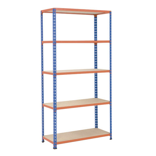 Medium Duty Shelving - Blue/Orange 2400x915mm HxW mm