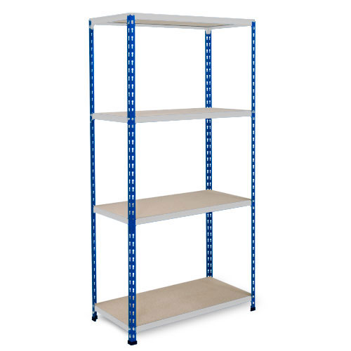 Medium Duty Shelving - Blue/Grey 1600x915mm HxW mm