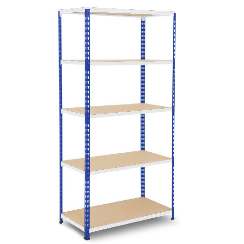 Medium Duty Shelving - Blue/Grey 2400x915mm HxW mm
