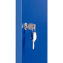 Single Locker with Plinth