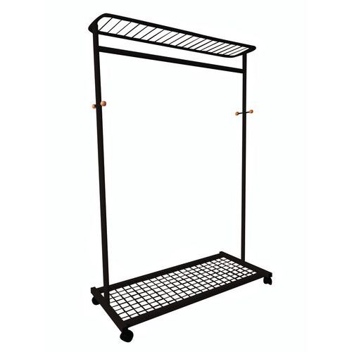 Mobile Clothes Rails with Racks