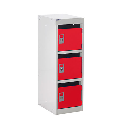 Post Lockers with 3 Slots - 870x300x380mm