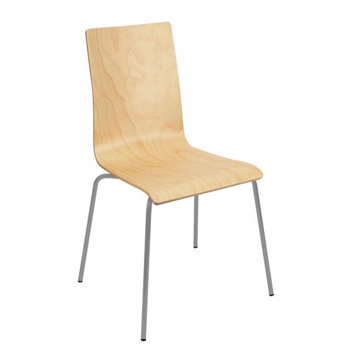 Wooden Four Leg Breakout Chair