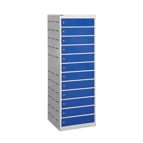 Laptop Lockers - 12 Doors - 1460x500x500mm