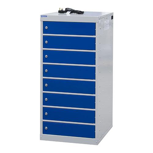 Laptop Charging Lockers 8 Doors 1000x500x500mm