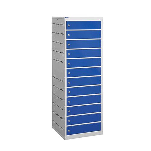 Laptop Charging Lockers 12 Doors 1460x500x500mm