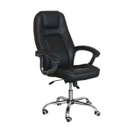 Teifi Leather Office Chair