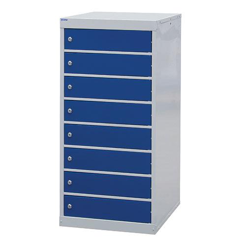 Laptop Lockers - 8 Doors - 1000x500x500mm