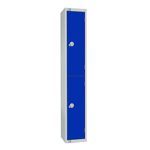 2 Door Antibac Locker 1800x300x300mm Cylinder Lock