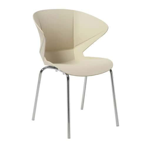 Cappuccino Lightweight Breakout Chair - Pack of 2