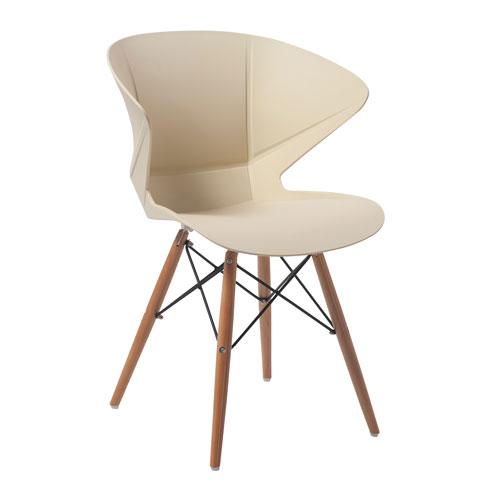Mocha Lightweight Breakout Chair - Pack of 2