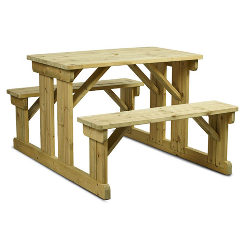Walk-In Picnic Benches