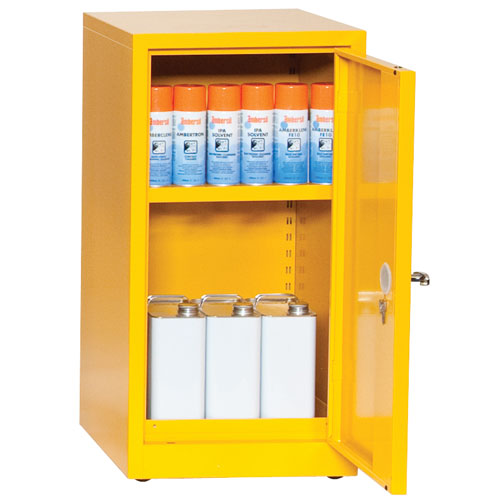 flammable storage coshh cabinet 900x459mm