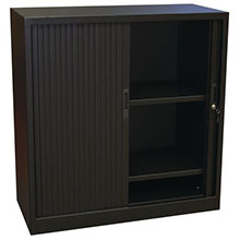 Black Tambour Cupboards