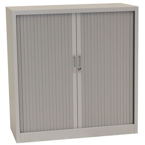 Tambour Door Cupboards - HxWxD 1050x1000x450mm