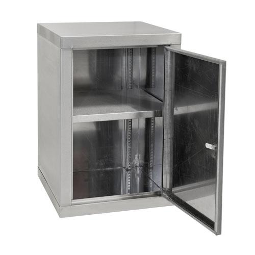 Stainless Steel Single Shelf Cabinet 600x450mm