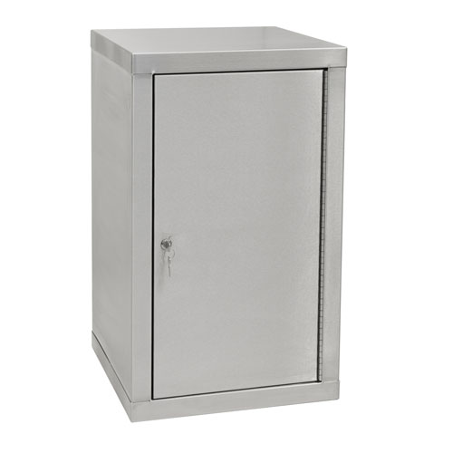 Stainless Steel Cabinet with 2 Shelves 900x450x450mm