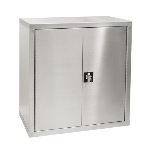 Stainless Steel Cabinet with Lock 900x450mm