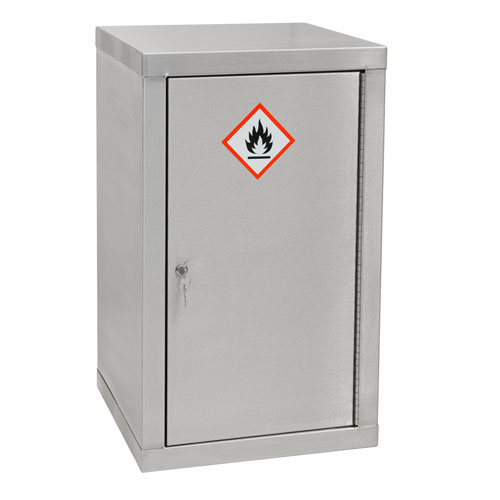 Stainless Steel Hazardous Storage Cabinet 900x450x450mm