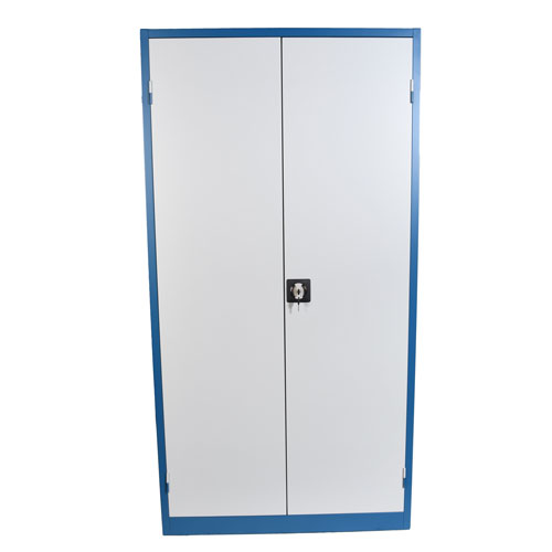 Lockable Cupboards with Louvre Back & Side Panel Sides