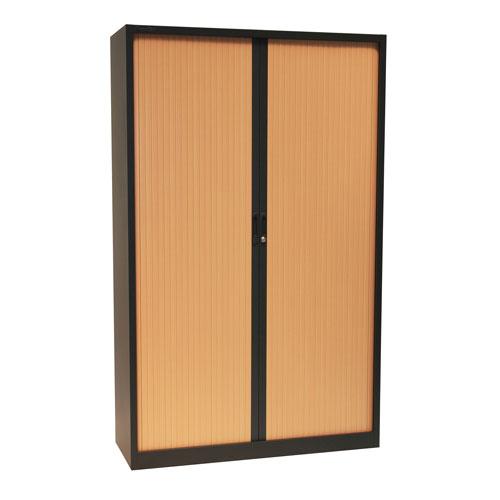 Manutan Tambour Door Cupboard - 1950x1200x450mm