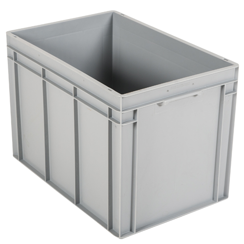 Tall Stacking Containers Grey 90L
